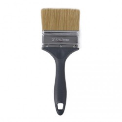 """Besi & Logam #ESF30 3"""" (76.2MM) Paint Brush (100% Synthetic Filament) with Stainless Steel Ferrule & Plastic Handle"""